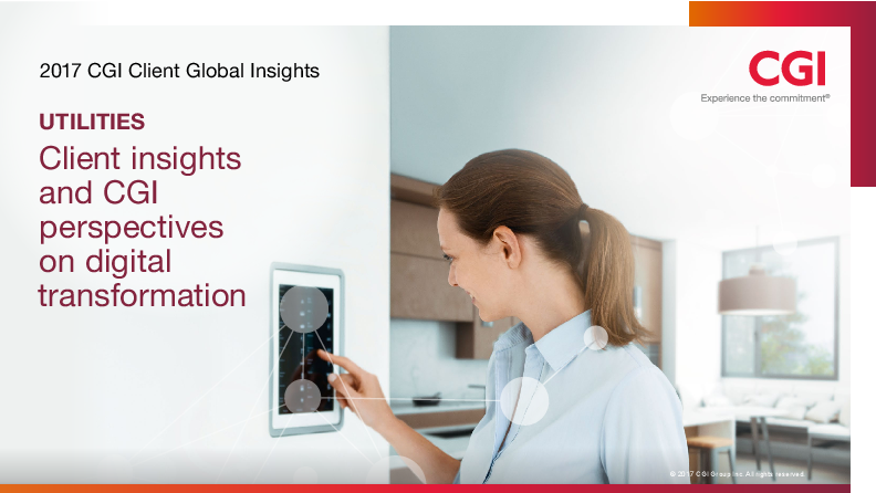 Client insights and CGI perspectives on digital transformation