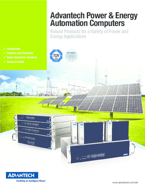 Power & energy automation computers