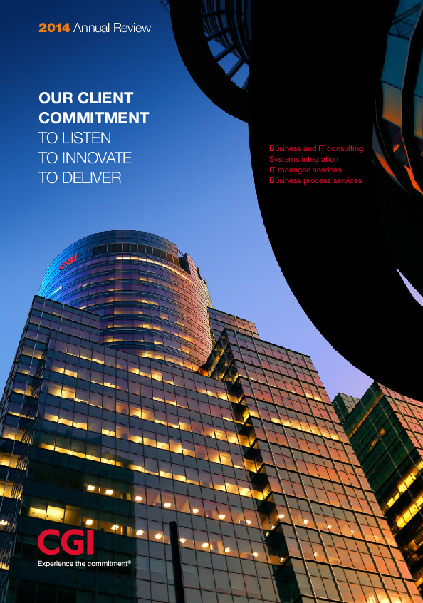 CGI – 2014 Annual Review