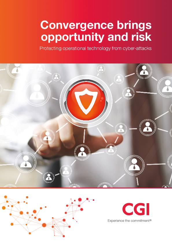 Convergence brings opportunity and risk: Protecting operational technology from cyber-attacks