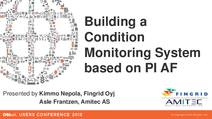 Fingrid: Real-time Condition Monitoring