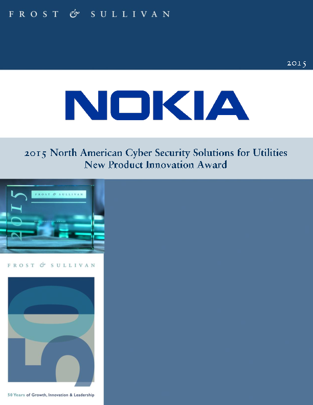 North American Cyber Security Solutions for Utilities – New Product Innovation Award