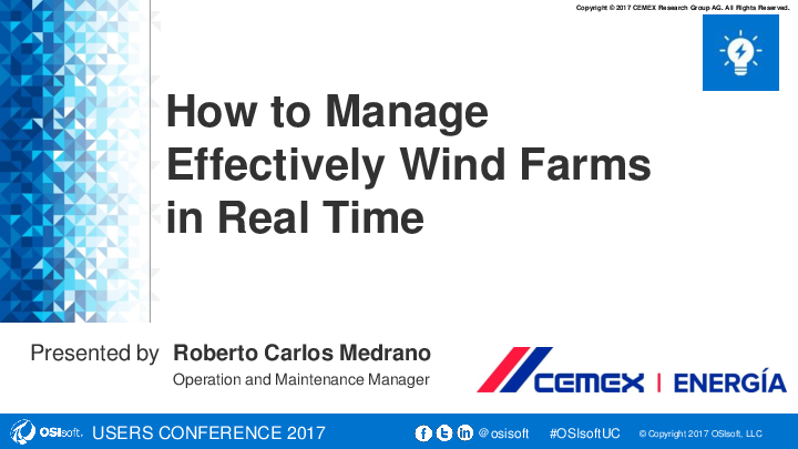 How to Effectively Manage Wind Farms in Real Time
