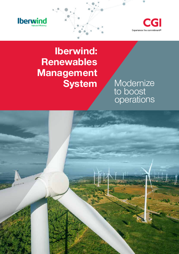 Iberwind: Modernizing to boost operations