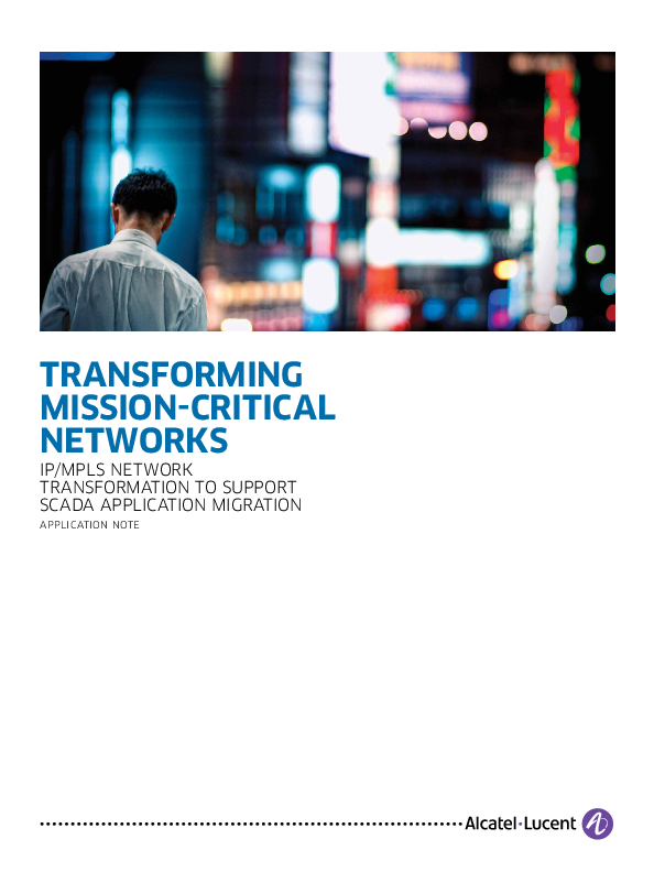 Transforming Mission-Critical Networks