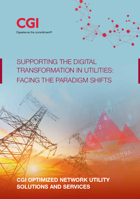 Supporting the Digital Transformation in Utilities: Facing the Paradigm Shifts