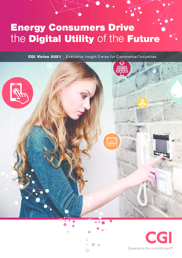 Energy Consumers Drive the Digital Utility of the Future