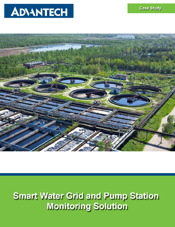 Smart Water Grid and Pump Station Monitoring Solution